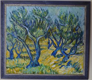 Oelbäume (nach van Gogh)